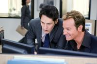Paul Rudd as Peter Klaven and Rob Huebel as Tevin Downey in