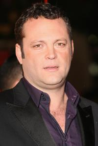 Vince Vaughn at the European premiere of