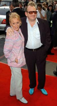 Mel Smith and Guest at the Opening Night and world premiere of