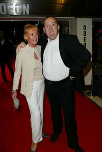 Mel Smith and Guest at the premiere of