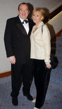 Mel Smith and Guest at the Celebrities Guild Unsung Heroes Awards.