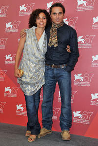 Valentina Bardi and Piergiorgio Bellocchio at the photocall of