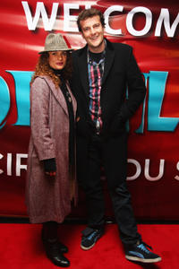 Danielle Cormack and Oliver Driver at the opening night of Cirque Du Soleil