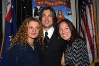 Danielle Cormack, Karl Urban, and Willa O'Neill at the premiere of