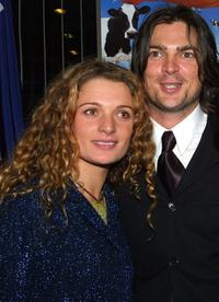 Danielle Cormack and Karl Urban at the premiere party of