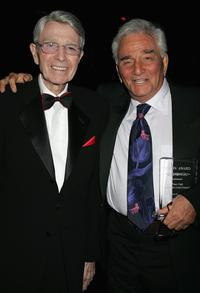 Peter Falk and Army Archerd at the 33rd Annual Vision Awards.