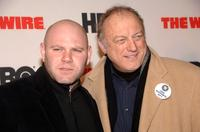 Domenick Lombardozzi and John Doman at the premiere of