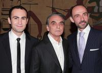 Khalid Abdalla, Homayoun Ershadi and Shaun Toub at the premiere of