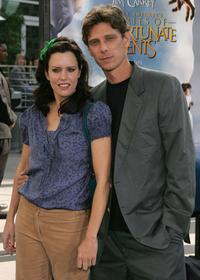 Ione Skye and Jamie Harris at the premiere of