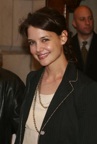 Katie Holmes at the opening night of