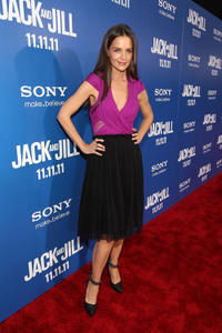 Katie Holmes at the California premiere of