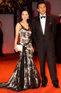 Su Yan and Hu Jun at the premiere of