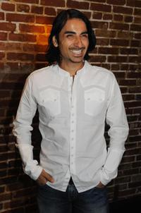 Akbar Kurtha at the premiere of