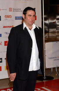 Sergi Lopez at the European Academy Cinema Awards.