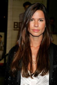 Rhona Mitra at the Hollywood premiere of