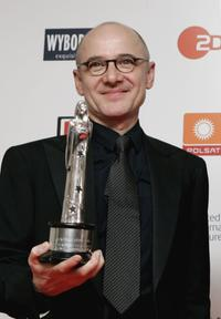 Ulrich Muhe at the European Film Awards 2006.