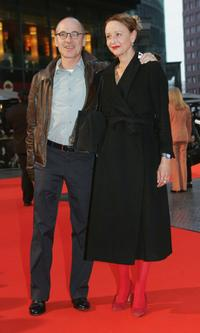Ulrich Muhe and his wife Susanne Lothar at the German premiere of