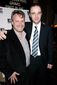 Doug Hughes and Brian F. O'Byrne at the after party of the opening night of
