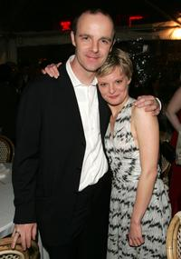 Brian F. O'Byrne and Martha Plimpton at the after party of the opening night of
