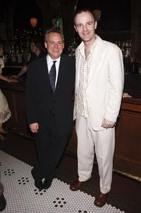 Doug Hughes and Brian F. O'Byrne at the Lincoln Center Theater opening night celebration of