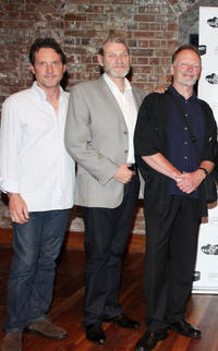 Andre Tighe, Anthony Phelan and John Bell at the Opening Night of