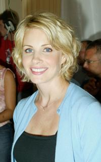 Monica Potter at the official opening of the 28th Annual Deauville Film Festival.