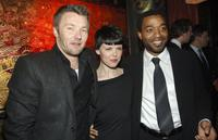 Joel Edgerton, Sarah Jane Potts and Chiwetel Ejiofor at the after party of