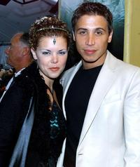 Sarah Jane Potts and Erik Palladino at the premiere of