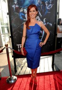 Carrie Preston at the premiere of