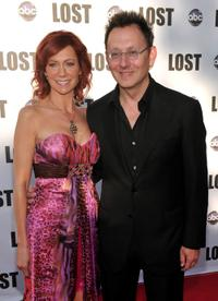 Carrie Preston and Michael Emerson at the ABC's
