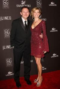 Michael Emerson and Carrie Preston at the 12th Annual Costume Designers Guild Awards.