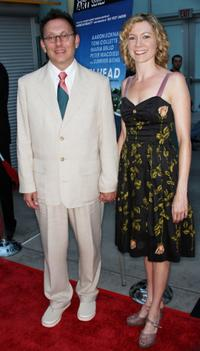 Michael Emerson and Carrie Preston at the premiere of