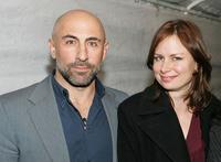 Carlo Rota and Mary Lynn Rajskub at the Church of Scientology's Christmas Stories XIV
