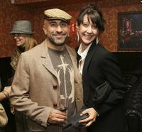 Carlo Rota and Guest at the 24 Season Five DVD Collection Launch Party.