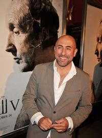 Carlo Rota at the premiere of