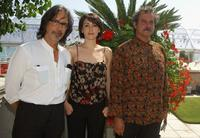 Fabrizio Costa, Anita Caprioli and Ennio Fantastichini at the photocall of