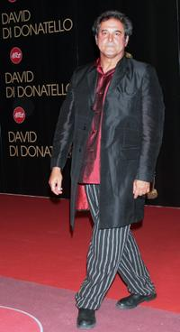 Ennio Fantastichini at the David di Donatello 2007 Italian Awards.