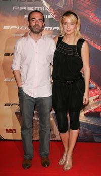 Bruno Solo and Virginie Efira at the Paris premiere of