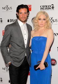 Charlie Carrick and Charlotte Sullivan at the Rising Stars 2012: Toronto Life Most Stylish during the 2012 Toronto International Film Festival.