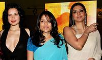 Zuleikha Robinson, Sahira Nair and Tabu at the premiere of