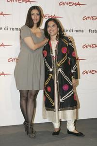 Tabu and Director Mira Nair at the photocall of