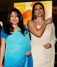 Sahira Nair and Tabu at the premiere of