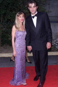 Goran Visnjic and wife Ivana at the AMFAR Cinema Against Aids 2001.
