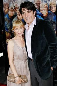 Ivana Vrdoljak and Goran Visnjic at the premiere of