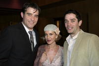 Goran Visnjic with wife Ivana Visnjic and James Frain at the premiere of