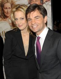 Alexandra Wentworth and George Stephanopous at the New York premiere of
