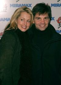 Alexandra Wentworth and George Stephanopoulos at the premiere of