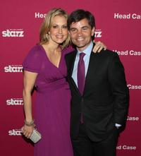 Alexandra Wentworth and George Stephanopous at the screening of