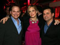 Adam Paul, Alexandra Wentworth and Michael Ruggiero at the premiere of