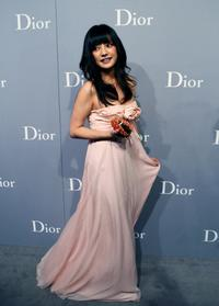 Zhao Wei at the Christian Dior & Chinese Artists.